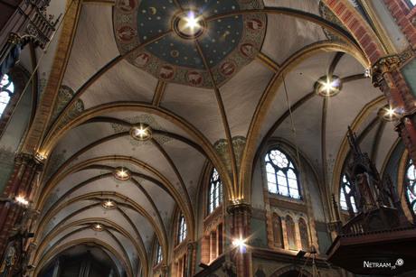 plafond kerk Oudeater