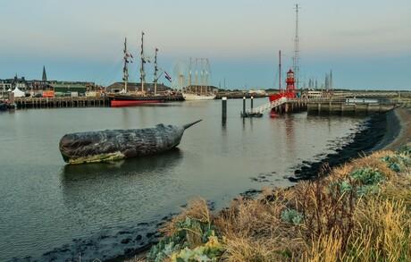 Haven Harlingen walvis.....