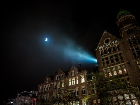 Spotlight op de maan