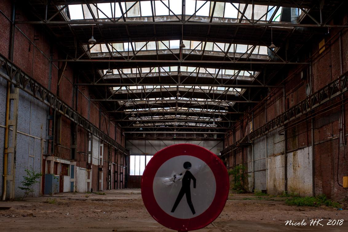 Oude industrie-1 - Foto genomen tijdens BredaPhoto in de oude fabriekshal van Backer en Rueb. - foto door NicoleHK op 18-09-2018 - deze foto bevat: oud, industrie, verlaten