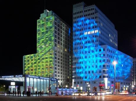 Berlijn - Festival of Lights - Potsdamer Platz