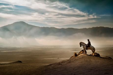 Man On The Desert