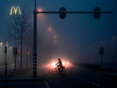 Mistige ochtend in Dukenburg
