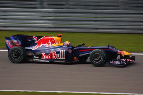 Grandprix winaar Webber