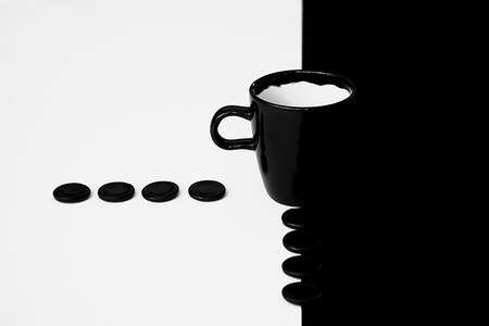 Black and White - ** - foto door anne14 op 16-10-2011 - deze foto bevat: drop