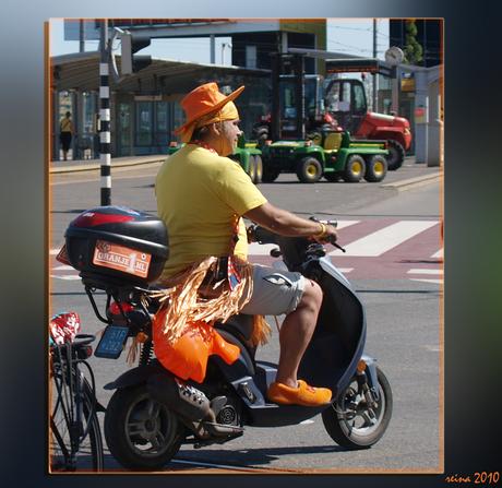 Oranje fan!