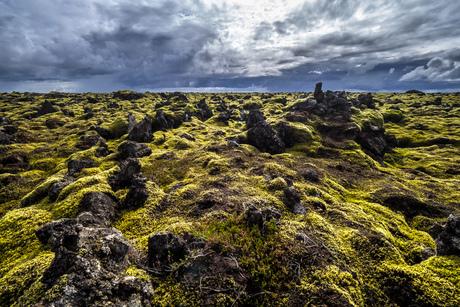 Strandakirkja - vulkanisch landschap