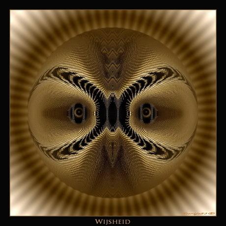 """Abstract """"Wijsheid"""""""