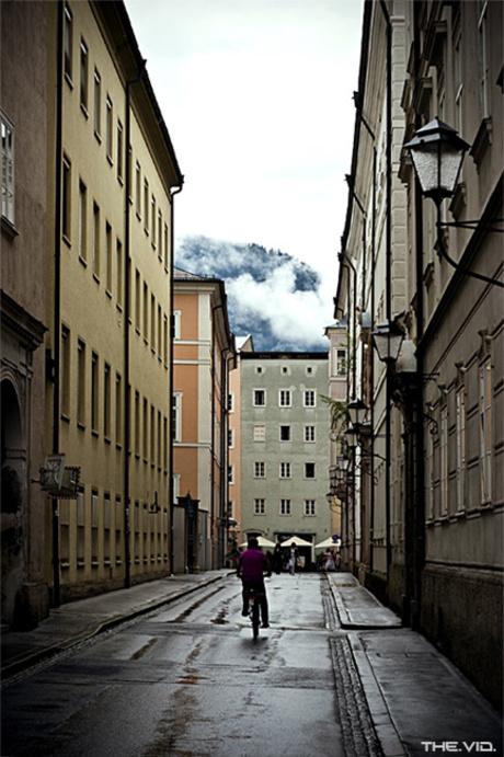 Salzburg lonely street