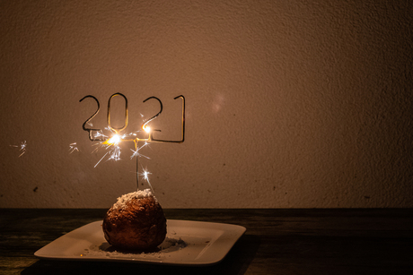 Happy New Year - zonder tekst in foto