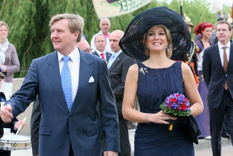 Koning Willem Alexander en Koningin Máxima