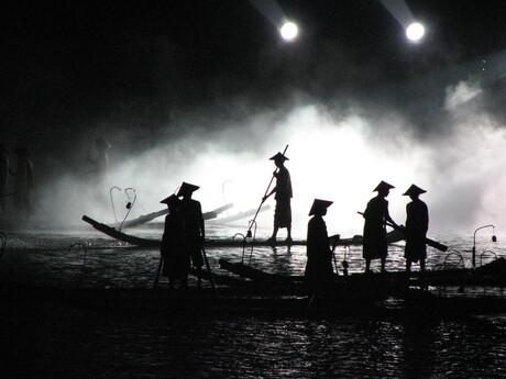 Chinese lichtshow