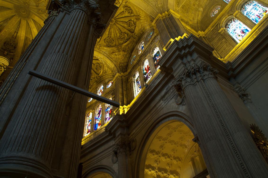 """Kathedraal """"la manquita"""" - Schitterende kathedraal in Malaga. De kathedraal van Málaga staat ook wel  bekend als """"la manquita,"""" de kleine een-armige vrouw, dit heeft met de  d - foto door klavertje1234@hotmail.com op 06-07-2011 - deze foto bevat: spanje, kathedraal, malaga"""