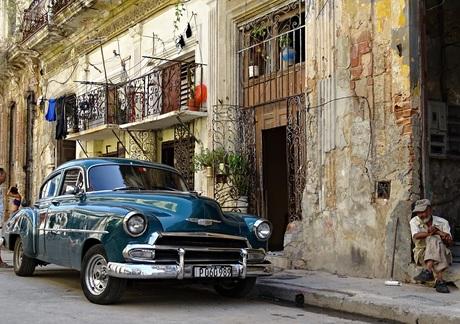 Straatleven in Havana