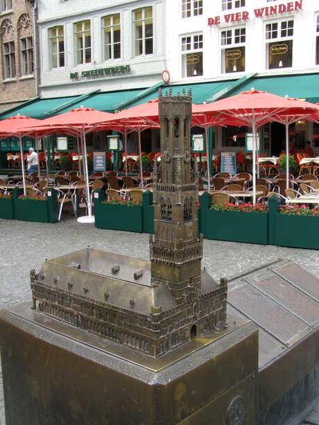 Miniatuur Belfort te Brugge