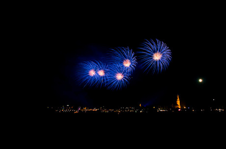 Vuurwerk zomerfeesten nijmegen 1