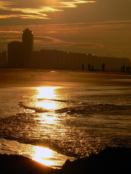 Gewoon strand Oostende