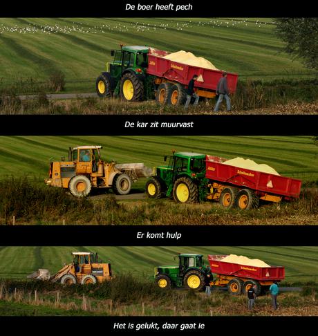 Hardwerkende boeren