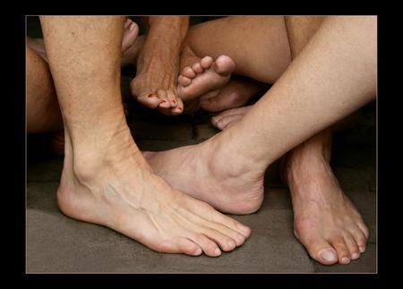 Stout? - Vul zelf maar in..... - foto door Maasstad op 22-02-2009 - deze foto bevat: voeten, nagels, hakken, tenen