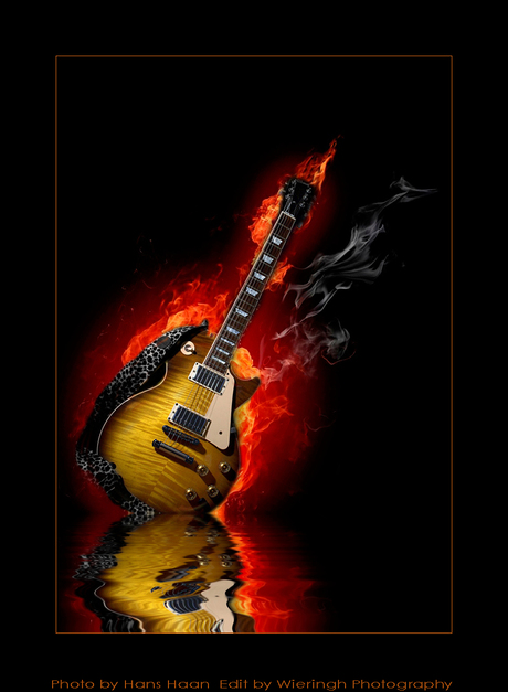 Gibson on fire...