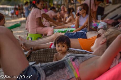 Massage aan het strand