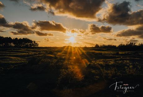 Prachtige zonsondergang in Goedereede