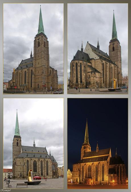 Plzen - De St. Bartholomeus-Kathedraal