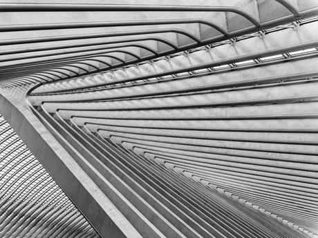Herhalende lijnen op het station van Luik (Gare de Liège-Guillemins)