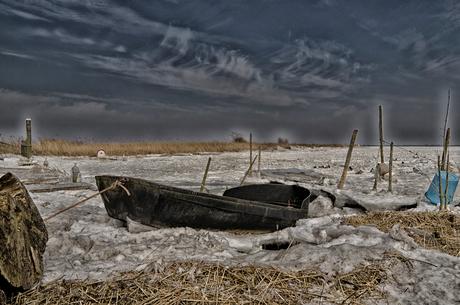 Schardam bij het ijsselmeer