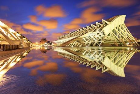 Stad van kunst en wetenschap, Valencia, Spanje