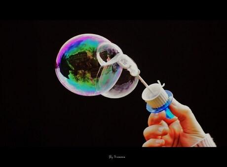 Three times a bubble...