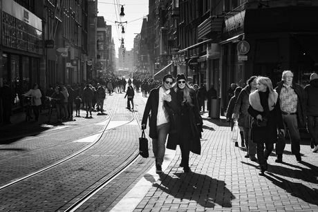 Zonnige zondag in Amsterdam