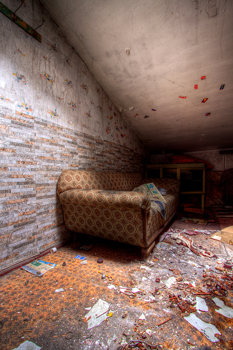 Verlaten huis DDR 3