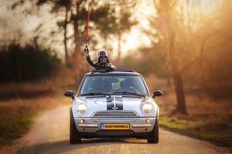 Darth Vader & the Darth Mobile
