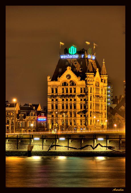 Witte huis Rotterdam.