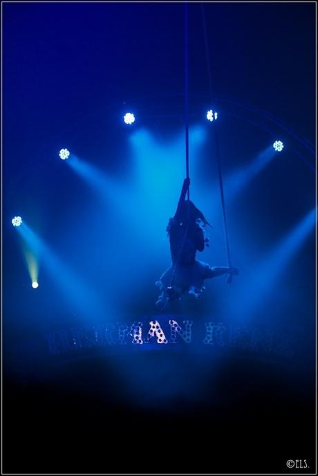 At the circus..