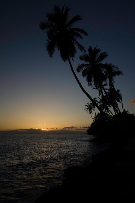 zonsondergang lahaina