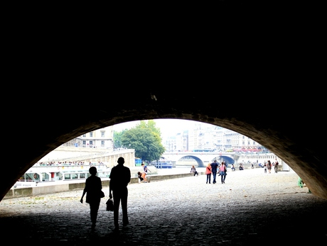 Onder de Pont Neuf