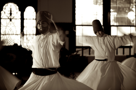 whirling dervishes of Istanbul