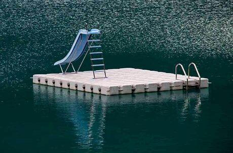 zwemplatform