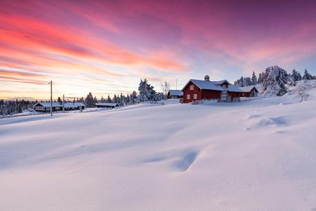 Golden Hour in Lillehammer