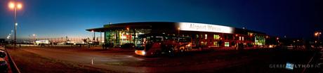 Night over Airport Weeze
