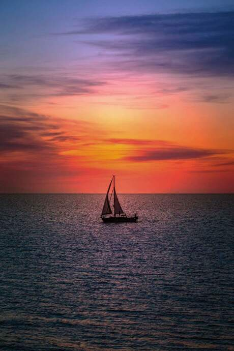 Lonely sailor