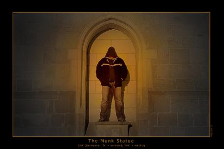 The Munk Statue