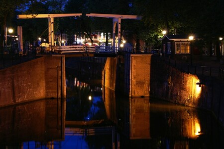 oude sluis - oude sluis vreeswijk nieuwegein - foto door gerardab op 24-02-2010 - deze foto bevat: avond, sluis, oude, nieuwegein, vreeswijk