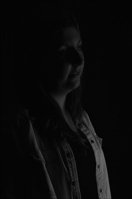 Portretfotografie - Low-key - foto door Canard op 27-12-2015