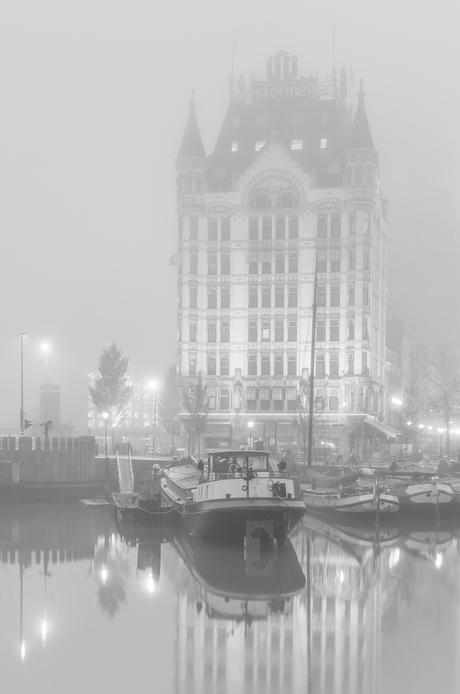 Eerste wolkenkrabber van Rotterdam