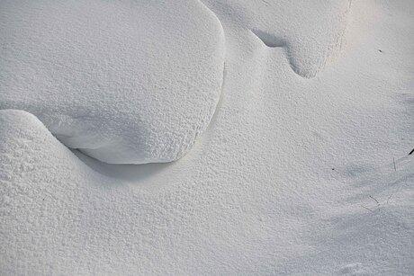 Figuren in de sneeuw