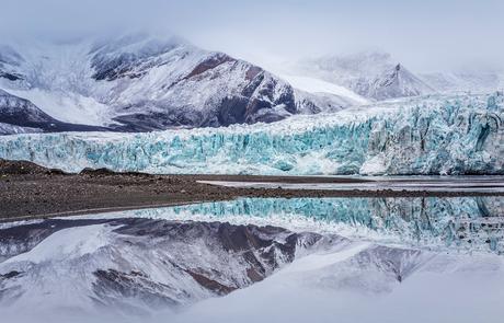 Spitsbergen - gletsjer Ymerbukta