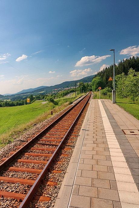 Bayerischer Wald Duitsland.